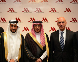 Riyadh Marriott Hotel Re-launch 2014 2