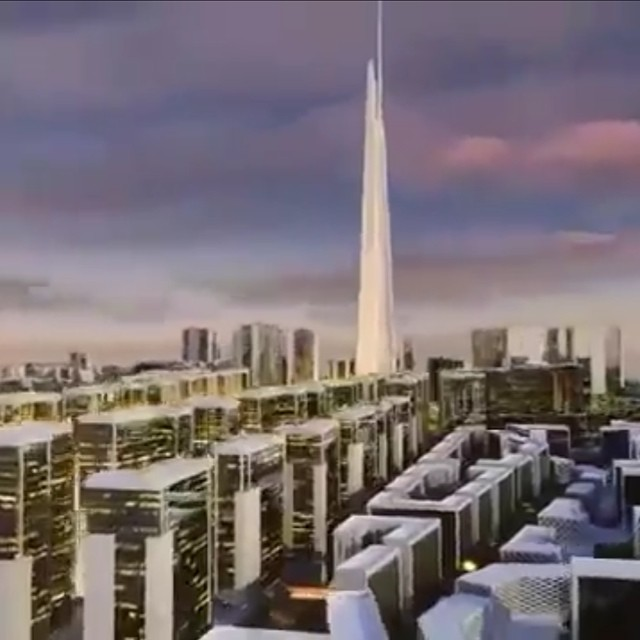 It's coming... to Jeddah! What would be the world's tallest building is on the rise! Watch and marvel how Jeddah's Kingdom Tower will reach for the sky and tower over the Red Sea city (and all the other skyscrapers in the world). http://www.youtube.com/watch?feature=player_embedded&v=D-M5lJznbtM  Kingdom City in Jeddah Kingdom City in Jeddah: Master Plan & Urban Design برج ومدينة المملكة بجدة: المخطط العام والتصميم الحضري
