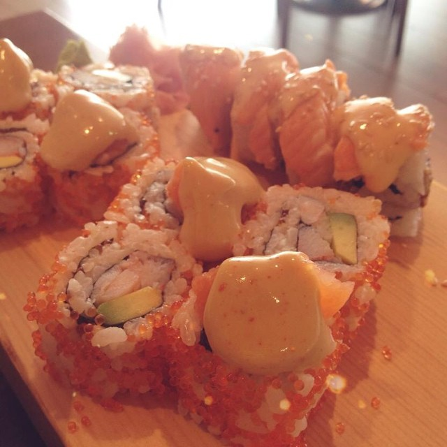The first day of the work week needs a heavy, delicious lunch! What are you craving for? Mine would be this but did you know that Sushi Yoshi opens only at 1:00pm every day (except Friday)? Yup! So, I'll settle for what's in our caf for now.  Have a great day, Riyadhizens! ~ Janelle ‪#gooddayriyadh‬ ‪#japcuisine‬