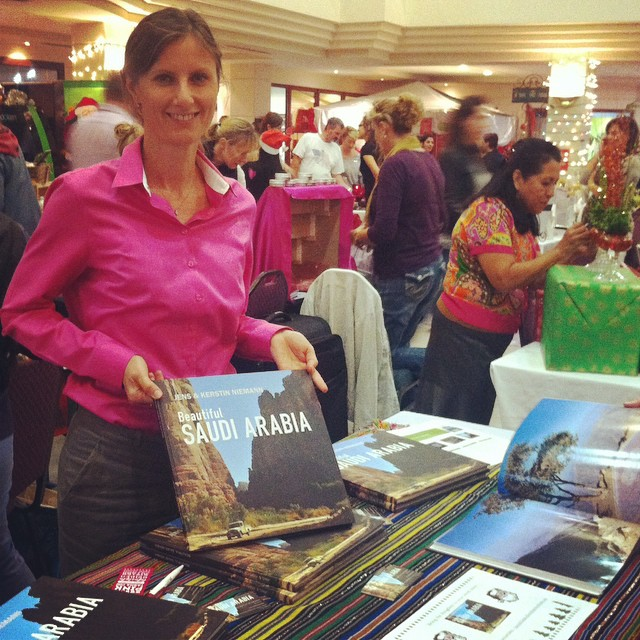 I met Photographer and Author Kerstin Niemann at Ishbilia Compound's Bazaar yesterday. She was showcasing her book: