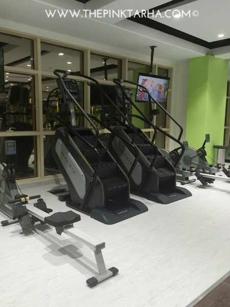 A state-of-the-art stairmaster!